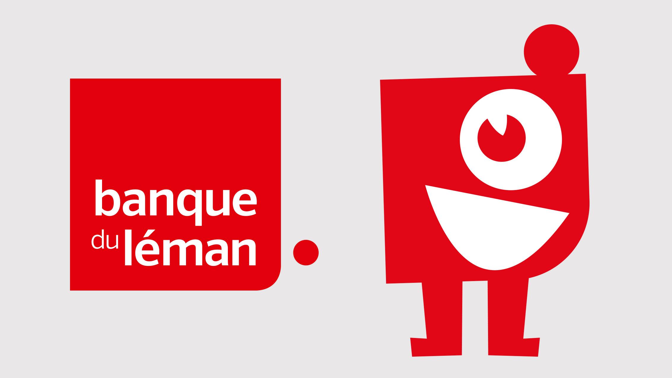Mascotte pour la Banque du Léman